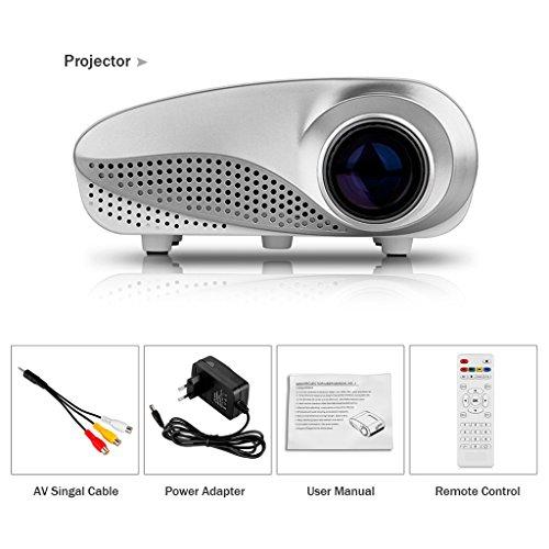 Excelvan pocket size movie projector video home projector for Pocket movie projector