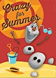 Crazy For Summer, Disney Frozen Refrigerator Magnet