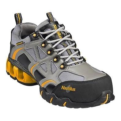 Nautilus Women's Composite Toe EH WP Gray Sneakers 6 W