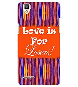 PrintDhaba Quote D-5937 Back Case Cover for OPPO F1 (Multi-Coloured)