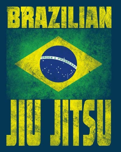 Brazilian Jiu Jitsu Notebook BJJ Composition Notebook - 8 x 10 - College rule 200 lined pages Gift [Books, Anu Banu] (Tapa Blanda)