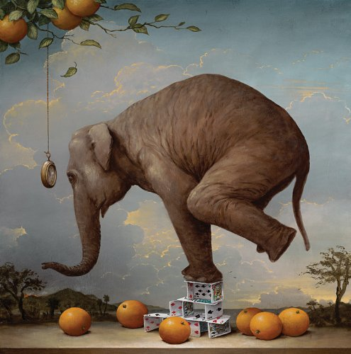 Kevin Sloan Consequences of Hypnosis Wooden Jigsaw Puzzle