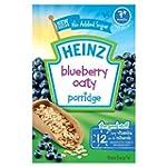 Heinz Blueberry Oaty Porridge, 7+ Mon...