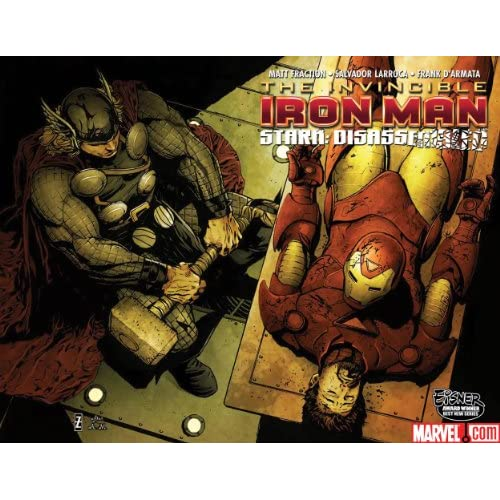 IRON MAN #20 STARK DISASSEMBLED PART 1 BY MATT FRACTION CONFESSION WRAP COVER