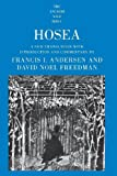 img - for Hosea (The Anchor Yale Bible Commentaries) by Francis I. Andersen (1996-10-07) book / textbook / text book
