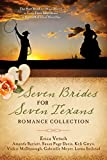 img - for Seven Brides for Seven Texans Romance Collection: The Hart Brothers Must Marry or Lose Their Inheritance in 7 Historical Novellas book / textbook / text book