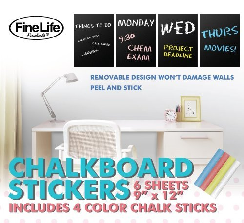 Self Adhesive Chalkboard Sticker