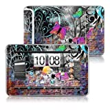Butterfly Wall Design Protective Decal Skin Sticker for HTC Flyer Android Tablet