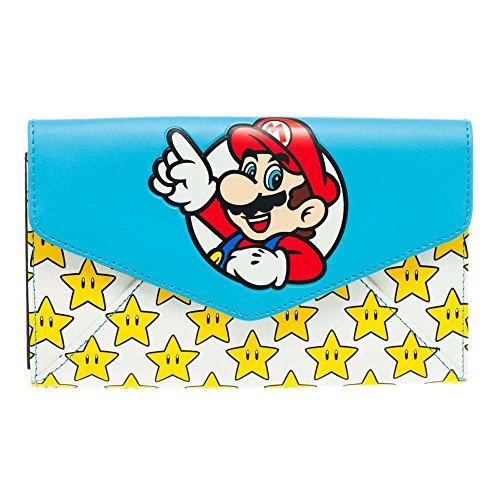 Nintendo Super Mario Bros. Portamonete, Multicolore (Multicolore) - BIO-GW172YSMB