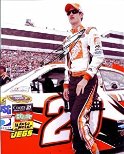 Buy 2010 Joey Logano #20 The Home Depot 8X10 SIGNED by Trackside Autographs