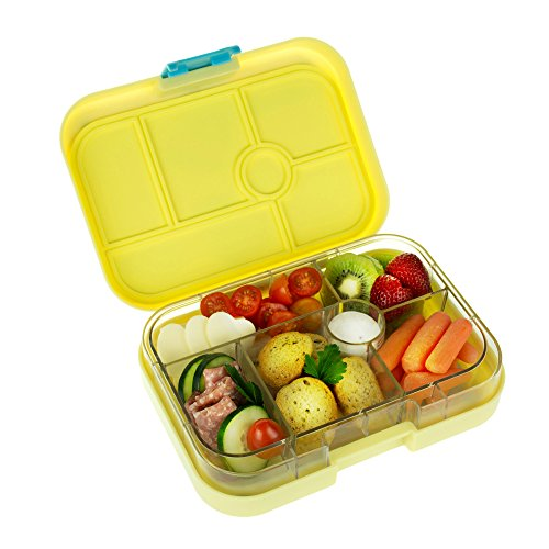 yumbox leakproof bento lunch box container ananas yellow for kids cobaltus17. Black Bedroom Furniture Sets. Home Design Ideas