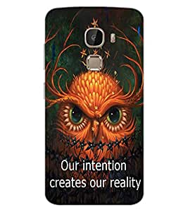 ColourCraft Image with Quote Design Back Case Cover for LeEco Le 2
