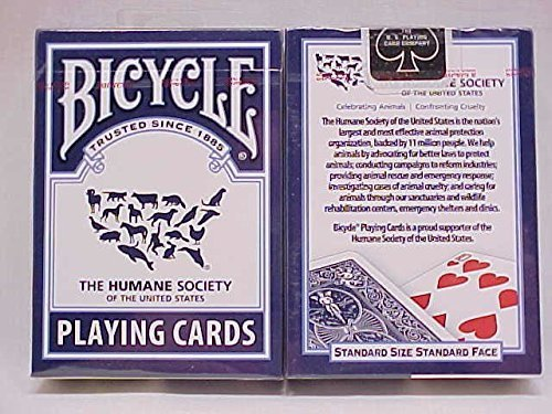 2 Decks the Humane Society Bicycle Playing Cards