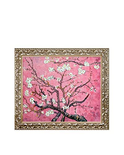 Vincent Van Gogh Branches of An Almond Tree in Blossom (Pearl Pink) Framed Hand Painted Oil On Canva...