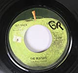 THE BEATLES 45 RPM GET BACK / DON'T LET ME DOWN