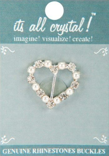 genuine-rhinestone-buckle-38mm-heart-silver-pearl