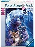 Ravensburger - La mujer y el lobo, puzzle de 1000 piezas (15414 2)