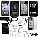 DigitalsOnDemand 15-Item Accessory Bundle for New Apple iPod Touch iTouch 4G 4th Gen Generation 8GB 32GB 64GB
