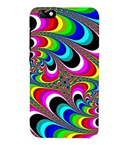Vizagbeats Peacock Tails Back Case Cover for Huawei Honor 4X::Huawei Glory Play 4X