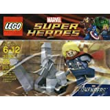 Lego Super Heroes Thor and the Cosmic cube 30163 (japan import)