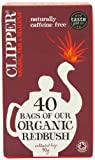 Clipper Fairtrade Organic Redbush 40 Teabags (Pack of 6, Total 240 Teabags)