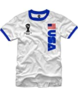 FIFA 2014 World Cup Soccer USA Ring T-shirt