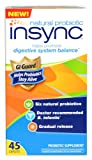 insync Natural Probiotic Supplement, 45 Count