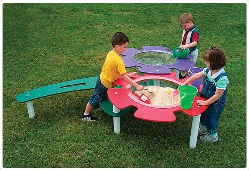 Sport Play 902-806 Tot Town Sand & Water Table
