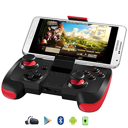 Samsung Gear VR Controller, Upgraded Version BEBONCOOL Android Bluetooth Game Controller Wireless Gamepad Joypad Joystick with Clip for Samsung S6 Edge, S7 Edge/Note 7/Nexus/LG/Tablet/Emulator