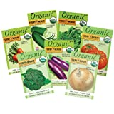 Search : Ferry Morse Organic Vegetable Garden, 7-Pack