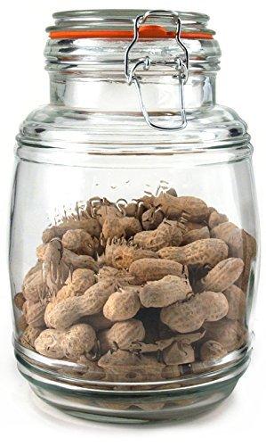 grant-howard-glass-cracker-barrel-jar-74-ounce-by-grant-howard