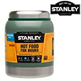 NEW 0.41L STANLEY CLASSIC VACUUM FOOD JAR FLASK STAINLESS STEEL HOT COLD THERMOS