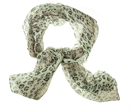 Cejon-Silver-Leopard-Ombr-Chiffon-Lightweight-Scarf-One-Size