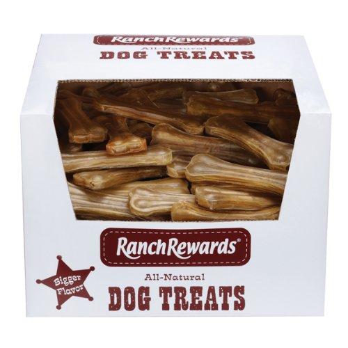 Ranch Rewards 8-Inch Premium Pressed Rawhide