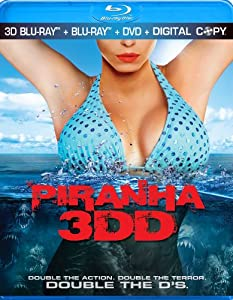 Prepare for double the action, double the terror and double the D's. The prehistoric school of bloodthirsty piranhas are back and this time, no one is safe from the flesh-eating fish as they sink their razor sharp teeth into the visitors of summer's best attraction, The Big Wet Water Park. Starring Danielle Panabaker, Matt Bush, David Koechner, Chris Zylka, Katrina Bowden, Gary Busey, Christopher Lloyd and David Hasselhoff.