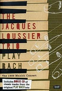 NEW Jacques Trio Loussier - Loussier Trio Plays Bach (CD)