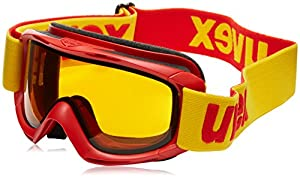 Uvex Kids Slider Ski Google -Chilli Red, Size 1