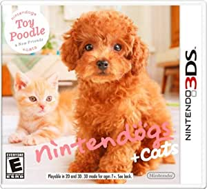 Nintendogs + Cats: Toy Poodle and New Friends - Nintendo 3DS Standard Edition