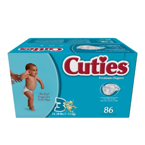 Cuties Jr Club Premium Diapers (3)