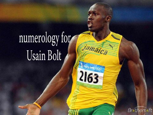 Numerology for Usain Bolt