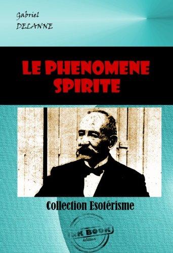 Couverture du livre Le phénomène spirite