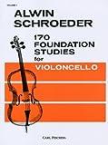 シュレーダー : 170の基礎的な練習曲 第1巻/カール・フィッシャー社チェロ教本
