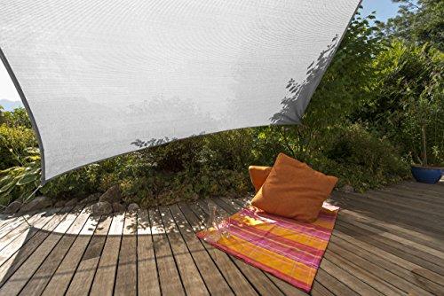 Windhager 10933 - Vela de sombra para patio