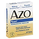 Azo Yeast, Tablets, 60 tablets