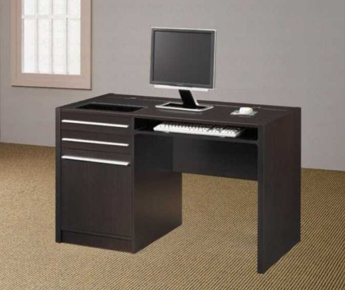 Buy Low Price Comfortable Cappuccino Computer Desk – Coaster Furniture (B003MBJRGM)