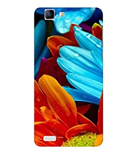 EPICCASE 3d petals Mobile Back Case Cover For Vivo X 3s (Designer Case)