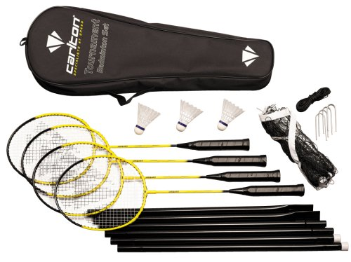 Carlton Tournament Badminton Set - includes 4 rackets