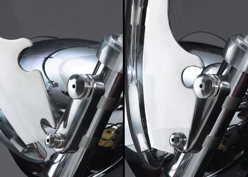 National Cycle Switchblade Mount Kit Chrome For Yamaha Raider