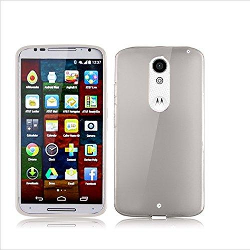 BEST DEALS Best Deals Premium Silicon Soft Case Cover for Motorola Moto X Play Black