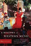 img - for A History of Western Music (Eighth Edition) book / textbook / text book